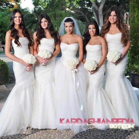 Kim Kardashian & Kris Humphries Wedding mga litrato