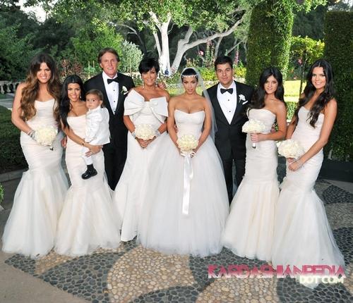 Kim Kardashian & Kris Humphries Wedding 写真