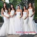 Kim Kardashian & Kris Humphries Wedding Photos - kourtney-kardashian photo