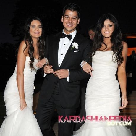 Kim Kardashian & Kris Humphries Wedding foto