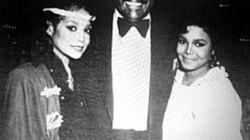 LATOYA WITH SISTER JANET JACKSON 1983