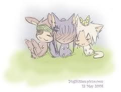 Lavi, Allen, and Kanda as 動物