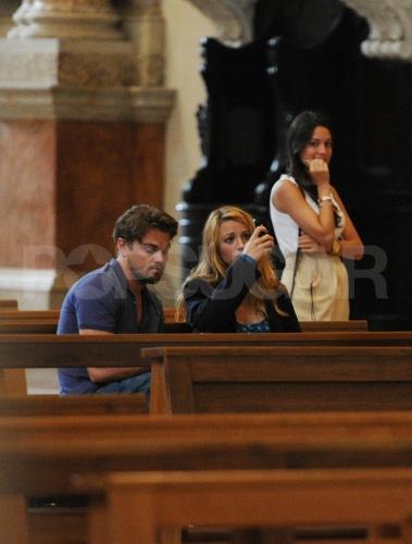 Leonardo Dicaprio And Blake Lively Bilder Leo Blakesightseeing In