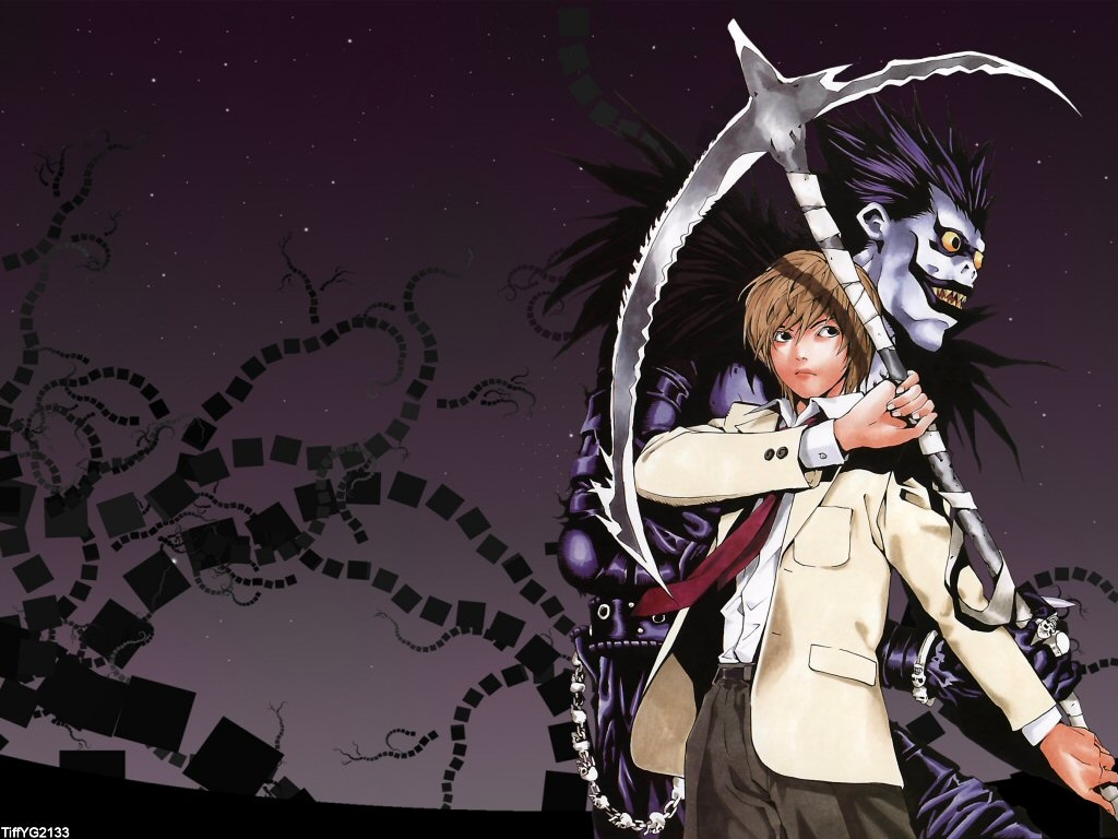 death note light wallpaper - photo #15