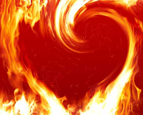 Love Fire - beauty Photo