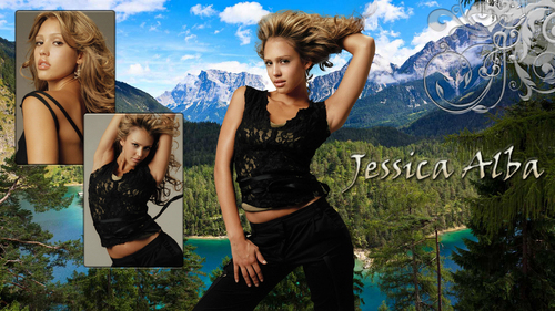 Lovely Jessica wallpaper ❤