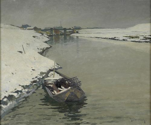 M. Clarenbach (1880 -1952) - Der stille Tag.