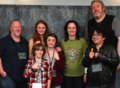 Maisie, Sophie, Art, Miltos & Kristian @ TitanCon - game-of-thrones photo