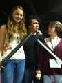 Maisie, Sophie & Miltos  @ TitanCon - game-of-thrones photo