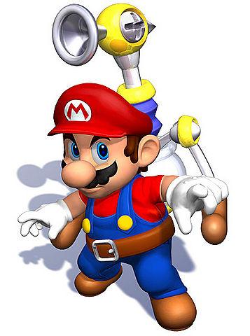 Mario & FLUDD