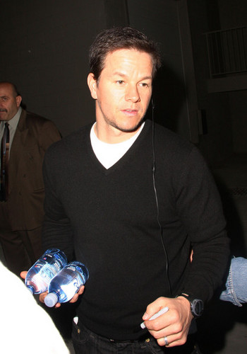 Mark Wahlberg Signs Autographs in Hollywood