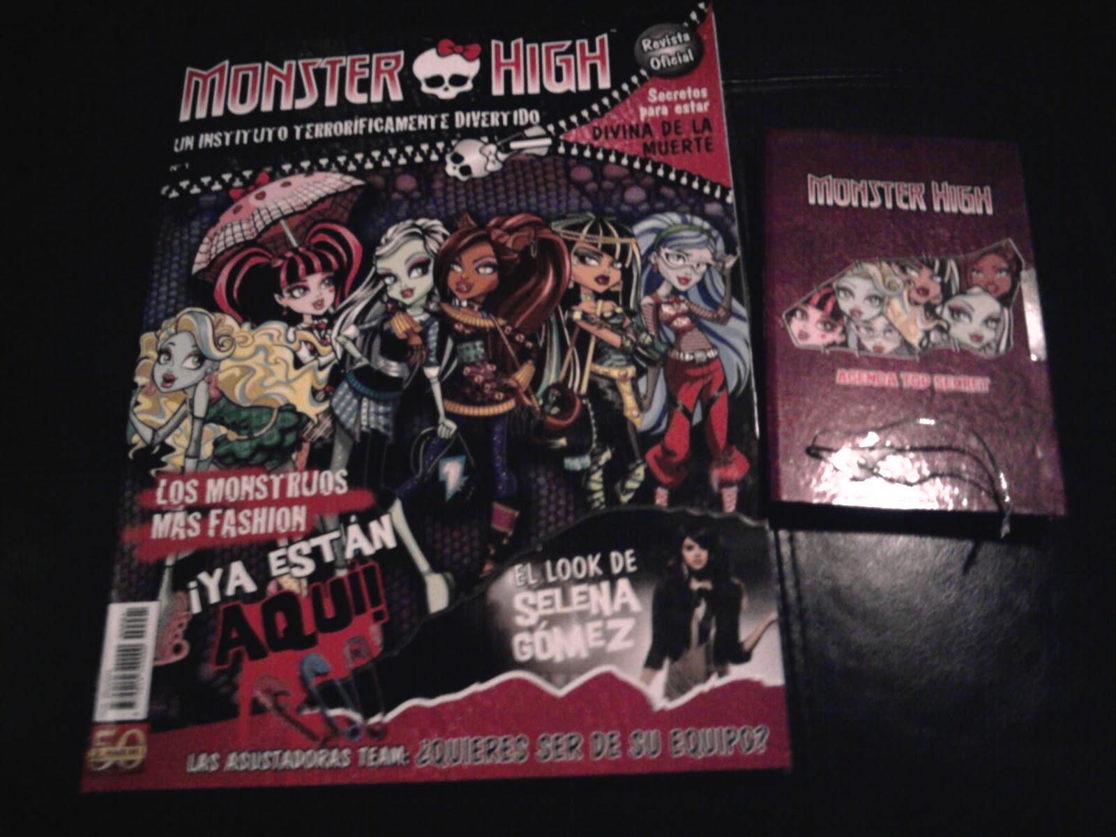 Monster High Magazine - monstruos de fotografías de alta