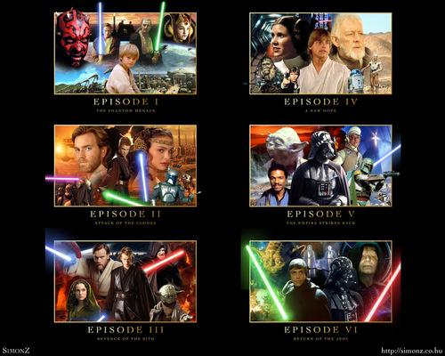 مزید سٹار, ستارہ Wars Saga پیپر وال