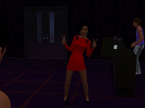 My Celebrity Sim Charlene Brookes