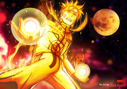 Uzumaki Naruto (Shippuuden) images Naruto (nine tails chakra mode) HD wallpaper and background photos