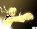 Naruto (nine tails chakra mode)