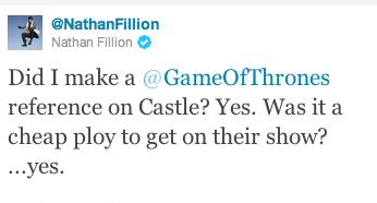 Nathan Fillion @ twitter