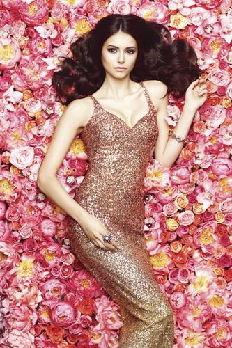 Nina - daydreaming amongst roses