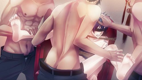 Yaoi wallpaper probably containing attractiveness called Omerta