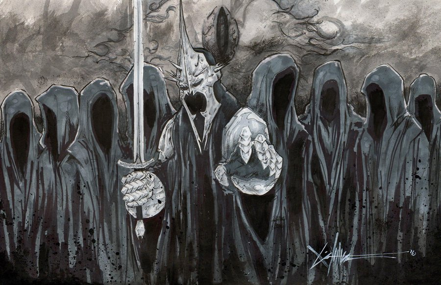Ringwraiths and Witch King