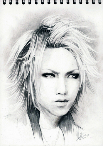 Pencil sketch of Ruki