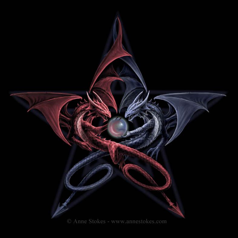 Pentagram dragoni