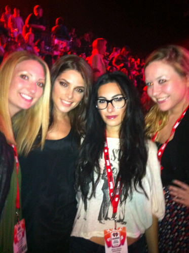 Personal photo; Ashley with Friends at IHeartRadio festival