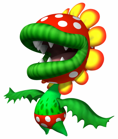 Super Mario Sunshine wolpeyper called Petey Piranha