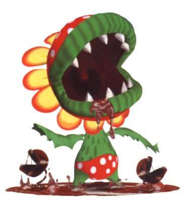 Super Mario Sunshine wallpaper called Petey Piranha