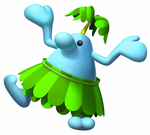 Super Mario Sunshine wolpeyper titled Pianta