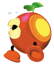 Super Mario Sunshine karatasi la kupamba ukuta titled Plungelo
