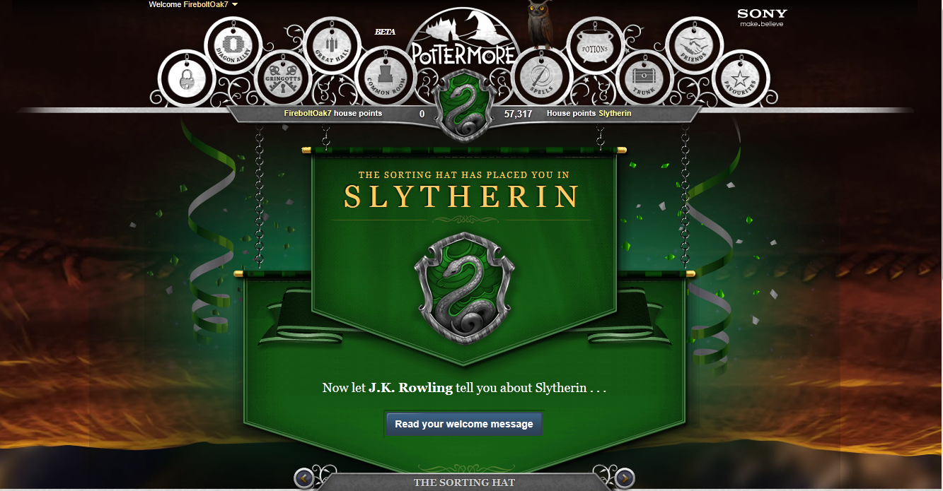 Slytherin Images Pottermore Hd Wallpaper And Background