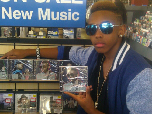 Prodigy (Mindless Behavior) wallpaper with a newsstand, a diner, and a tobacco shop titled Prodigy with #1 Girl Album!! ;)