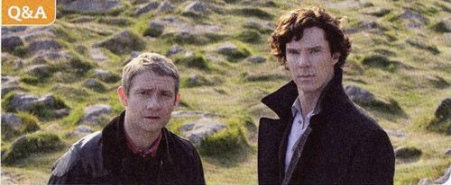 Promo still from 'The Hounds of Baskerville'