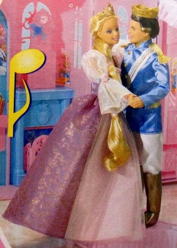 Rapunzel doll with ANOTHER PRINCE?!?