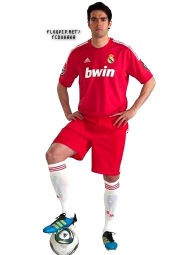 the latest eae25 7de32 Real Madrid's New Red Jersey. - Ricardo Kaka Photo (25634490 ...