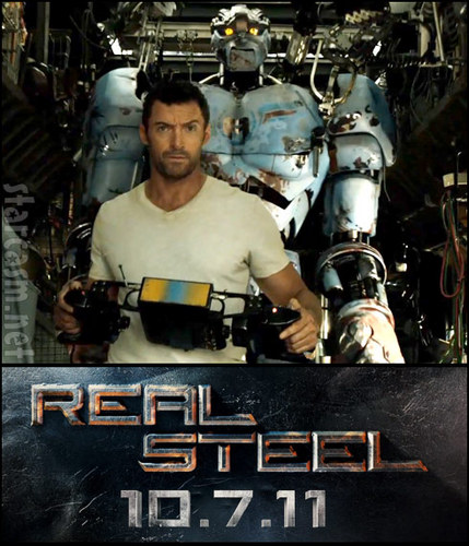 Real Steel wallpaper probably containing a sign, a rifleman, and an internal combustion engine called Real Steel - October 7th