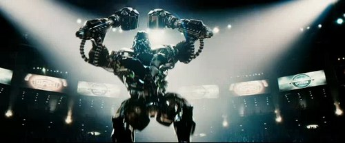 Real Steel wallpaper entitled Real Steel - october 7th