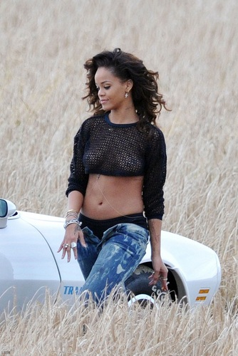 Rihanna - On The Set & Behind The Scenes - 'We Found Love'