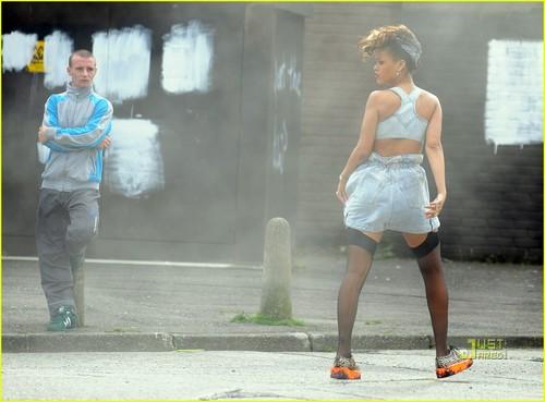 Rihanna wallpaper titled Rihanna: 'We Found Love' in Belfast!