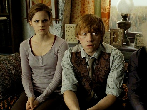 Romione wallpaper called Ron and Hermione Wallpaper