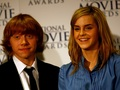 Ron and Hermione پیپر وال