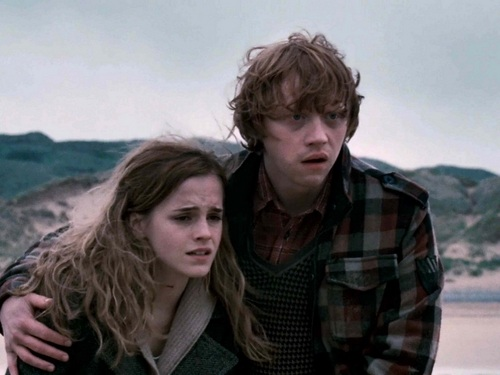 Ron and Hermione Обои