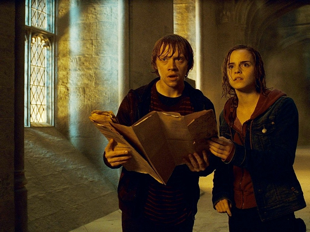 Ron and Hermione Wallpaper - Romione Wallpaper (25678881 ...