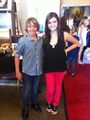 Ryan with Rebecca Black  - ryan-lee photo