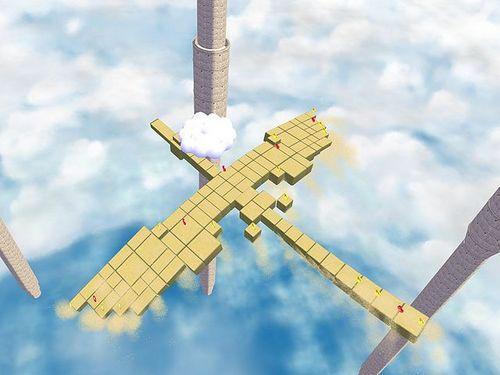 Super Mario Sunshine wolpeyper titled Sand Bird