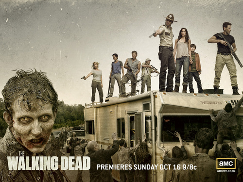 the walking dead wallpaper probably with a jalan, street called Season 2 wallpaper