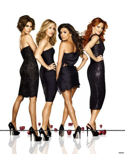 Desperate Housewives wallpaper possibly with a dumbbell, a leotard, and a hip boot titled Season 8 Promo Photoshoot
