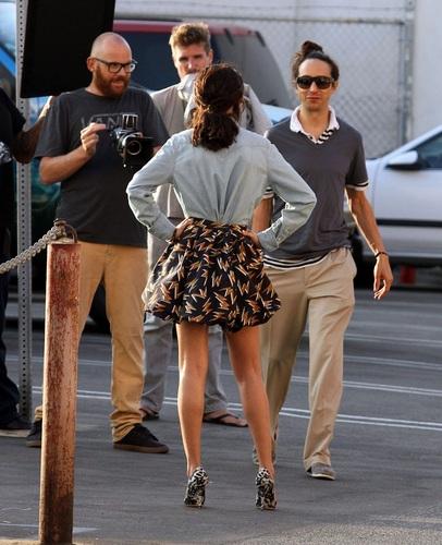 Selena - At a Photoshoot Set in Venice - September 26, 2011