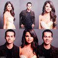 Selena Gomez & Dylan O'Brien! 100% Real ♥ - allsoppa fan art